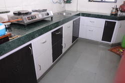 2.5 Feet L Shape Modular Kitchen