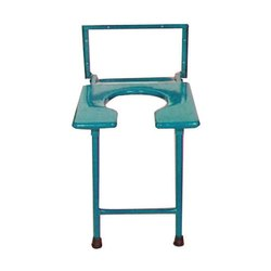 Square Patient Commode Stool