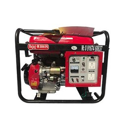 1 Kw Bajaj M Portable Low Noise Petrol Generator Set