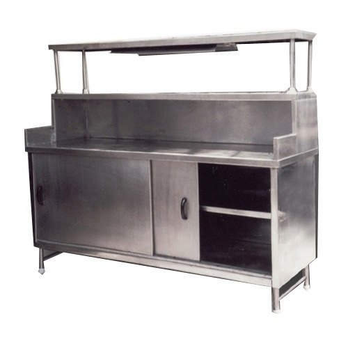 Cook Fresh Kitchen Equipment Silver Pick-up Counter Table