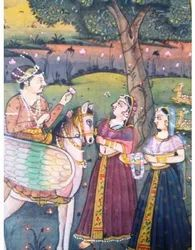 Painting Of Two Emperor And Queen