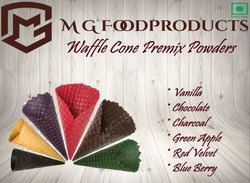 Kridha Waffle Cone Premix Powder, Packaging Type: Packet