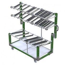 Material Presentation Rack