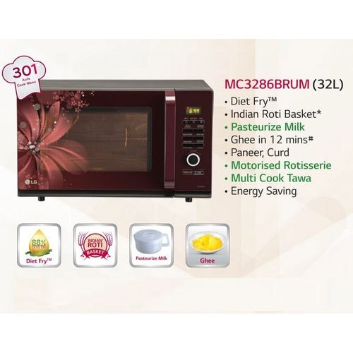 Black Convection Lg Microwave Oven