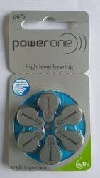 P675 Powerone Hearing Battery