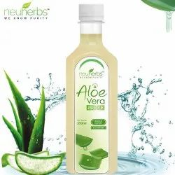 Neuherbs Aloe Vera Juice With Fiber And No Added Sugar - 350 Ml, Packaging Type: Bottle