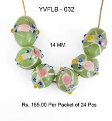 Lampwork Fancy Glass Beads - YVFLB-032