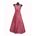 Long Pink Ladies Gowns