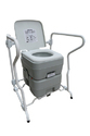 Portable Outdoor Camping Picnic Toilet (With Folding Arm Rest Frame) Orthopaedic Aid Event