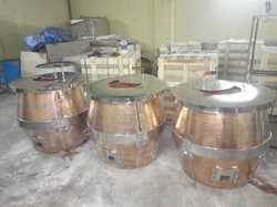 Copper Hammered Tandoor