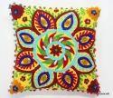 Suzani Embroidered Designer Cushion Cover