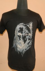 V-Neck Printed T-Shirt