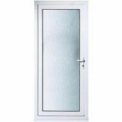 UPVC Glass Bathroom Door