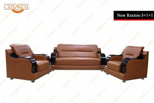 Crystal Furnitech C Shape Rexton Sofa Set Rs 46846 Unit
