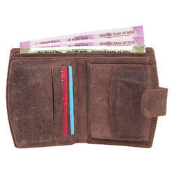 Brown Floppy Leather Wallet