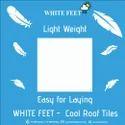 Weathering Tiles White Feet