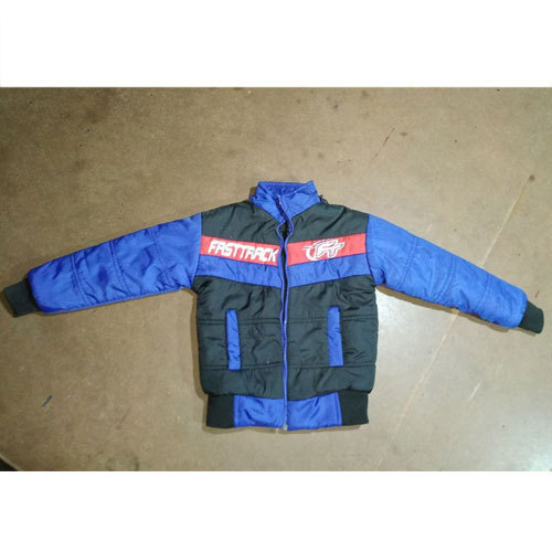 96f968e6e Avishkar Garments Blue And Black Kids Boy Casual Wear Winter Jacket ...