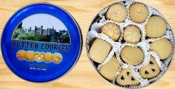 Danisha Style Butter Cookies In Tin