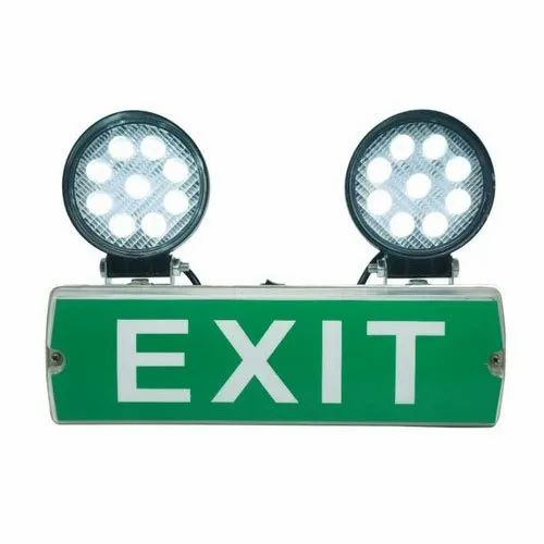 Emergency Fire Exit Lights