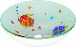 12 Mm Glass Wash Bowl