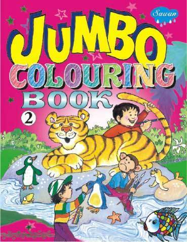 Jumbo Colouring Book 2