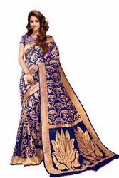 Blue Party Wear Silk Sarees