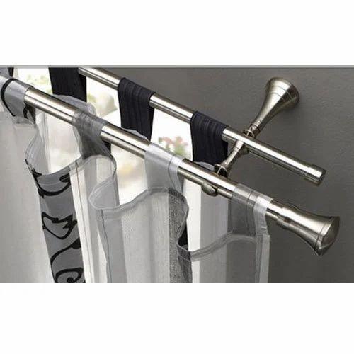Reva Metallic Grey Curtain Rods Rs 128 Kilogram Reva Technologies