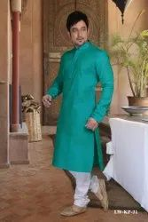 Linen Look Party Wear Kurta