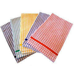 Mono Check Terry Tea Towels