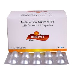 Multivitamin, Multi-Mineral & Antioxidant Capsule