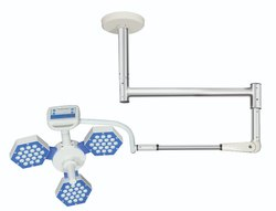 Series 5 - Ceiling Mounted Surgical Led Lights, Single Dome