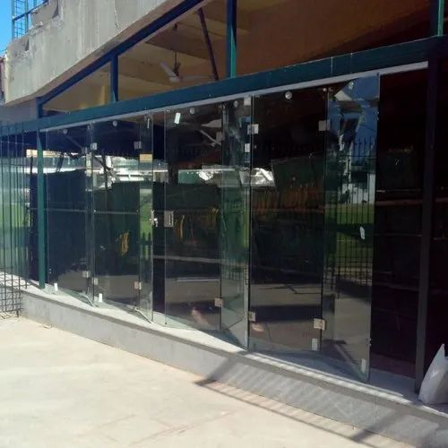 Toughened Glass Saint Gobain Foldable Glass Door Thickness 10 To 12 Mm For Office Rs 1000 Square Feet Id 21171986755