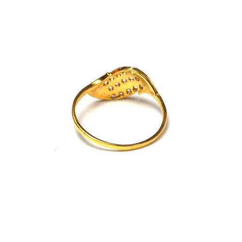 Designer Gold Ring at Rs 3000/piece