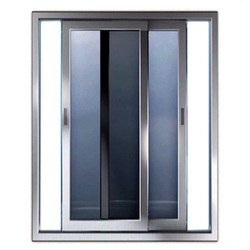 Glass Aluminium Aluminum Sliding Door