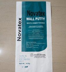 powder form Novatex cement Wall Putty, for Interior, Packaging Size: 40 Kg
