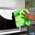 Plain Softspun Microfiber Home & Kitchen Cleaning Towel Cloth, Size: 30x30 Cm