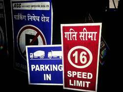 Road Speed Limit Signs