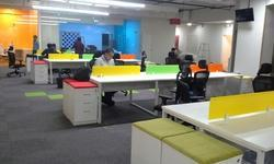 Open Desk Type Office Workstation