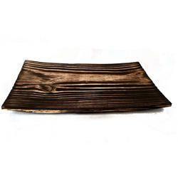 Rectangular Pine Wood Food Platter