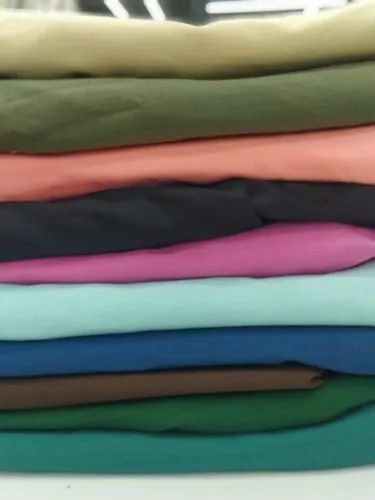 Polyester Linen Dyed Fabric