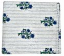 Hand Block Butta Print Kantha Bed Cover