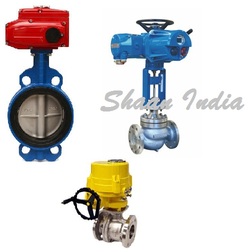 Shaan Motorized Ball Valve, Size: 15MM To 600MM