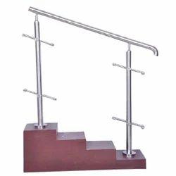 Modern Mild Steel Staircase Railing