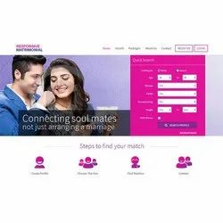 Matrimonial Web Designing Service, With 24*7 Support
