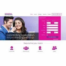 Matrimonial Web Designing Service