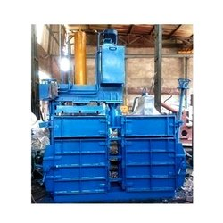 Single Box Double Cylinder Baling Machine With Pusser