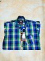Xl And Large Collar Neck Check Casual Shirts