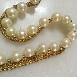Pearl and Beaded Laces