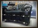 Modern Black Sofa Set, Size: 3+2