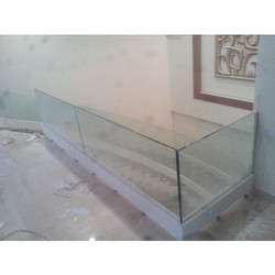 Glass Stair & Balcony Panel, Height: Upto 3.2 feet